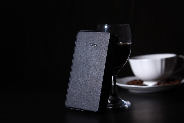 Genuine original~! For samsung B9388 protective leather case w2013 genuine leather mobile phone case polychip