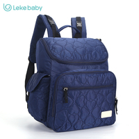 LEKEBABY Waterproof Bag Baby Backpack Large Diaper Bag Organizer Fashion Nappy Bags Baby Nappy Backpack