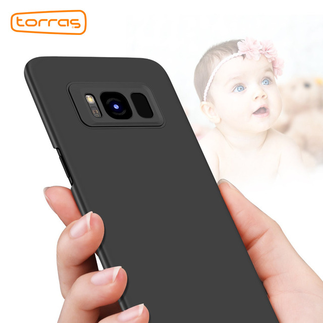 brand new c0feb 01895 US $5.03  Torras Ultra Slim Phone Case for Samsung Galaxy S8 Accessories  Hard Full Protective Thin Cover For Samsung S8 Plus S8 Phone Case-in ...