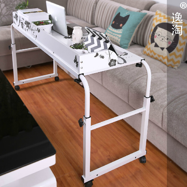 Double Lazy Desk Laptop Desk Bed With A Simple Mobile Table IKEA Desk  Minimalist Home Off In Computer Desks From Furniture On Aliexpress.com |  Alibaba Group