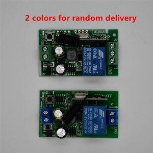 Image 2 - 433 Mhzรีโมทคอนโทรลไร้สายAC 110V 220V 2 ชิ้น 1 ช่องรีเลย์ตัวรับสัญญาณรีเลย์และ 1 ชิ้นRF 433 Mhz Rem