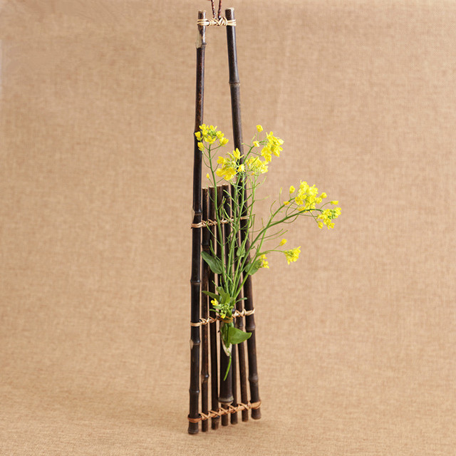 AliExpress & Handmade Japanese Bamboo Flower Vase For Home Decoration Plant Paint High Quality Wedding Decoration Vase Gift Crafts Basket-in Vases from Home \u0026 ...