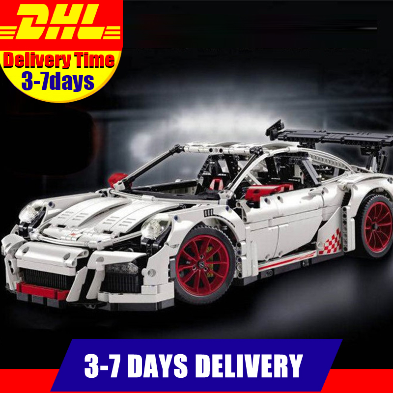 IN STOCK Clone 42056 LEPIN 20001B 2758Pcs New Technic Series Classic White Race Car Educational Building Bricks Blocks потолочный светильник odeon 2758 2758 9c