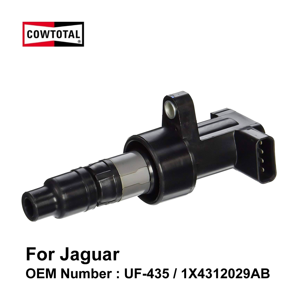 COWTOTAL Ignition Coil UF435 099700 062 for Jaguar S Type XF XJ6L XJL X Type OE