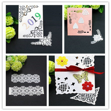 Lace4 Style  Frame Metal Cutting Dies Stencils For DIY Scrapbooking/photo Album Decorative Embossing DIY Paper Cards