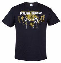 Camiseta de algodón para hombre, Camiseta con cuello redondo de stranger things KRAV MAGA ESTILO MILITAR para ENTRENAMIENTO