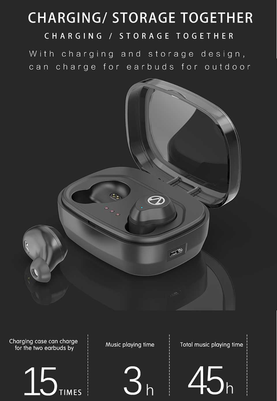 Bluetooth Earphones & Headphones Romantic For Germany Customer Vip Link Drop Shipping I9s True Wireless Bluetooth 5.0 Earbuds Bilateral Call Stereo Headsets