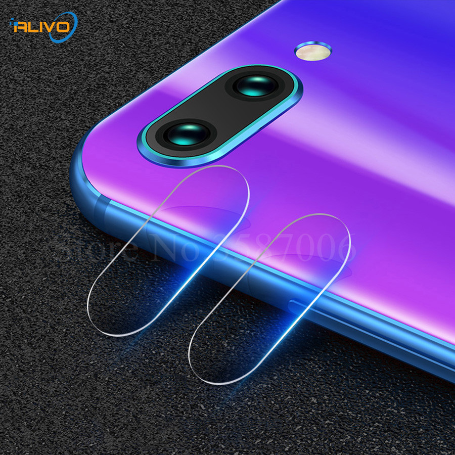 ALIVO 2Pcs Back Camera Lens Tempered Glass For Huawei Honor 10 Camera Lens Screen Protector For Huawei Honor 10 Honor10 COL-L29