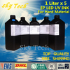 LED UV INK 1000ML 5 UV Ink FOR Epson Printhead UV Printer For Metal PVC KT