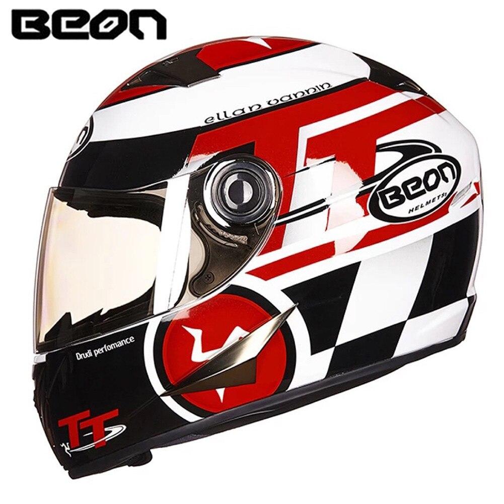 цена на Motorcycle Helmet Racing Full Face Helmet B50021 Moto Casque Casco motocicleta Capacete Kask helmets Chrome Visor M L XL