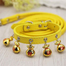Pet supplies cat dog Bell collar Teddy small bell traction rope