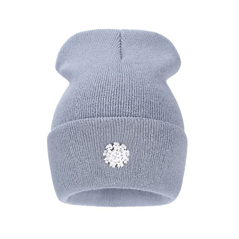 2016 New Fashion Lovely Knitting Wool Acrylic Beanies Hip Hop One Flower Hats for Women Gorros Bonnets Caps Woman Floral Cap 10 2016 new fashion letter gorros hats bonnets