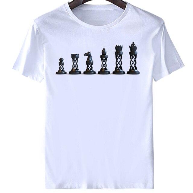 be9bd6f7 2017 t shirt Chess Heart Beat Pulse Game Board Pieces Dad Player Custom  Funny T Shirt Men short Sleeve T-shirt Top Tees s-xxxl