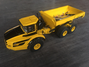 Image 3 - 1/14 rc scharnierbare dumper hydraulische dump truck/rc dump truck