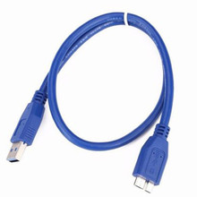 0.3 M/1 M/3 M/5 M USB 3.0 un câble de cordon de synchronisation de données dextension mâle à femelle 5 Gbps Transmission rapide USB étendre le câble 0508