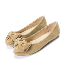 New Woman Shoes Boat Flats Loafers Casual Women Slip-on Low-cut Plus Size Ladies Elegant Sweet Party Wedding Shoes High Quality недорого