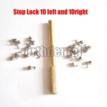 20 Pcs Dental Orthodontic Activity Crimpable Hook Stop Lock GURINS With Tool