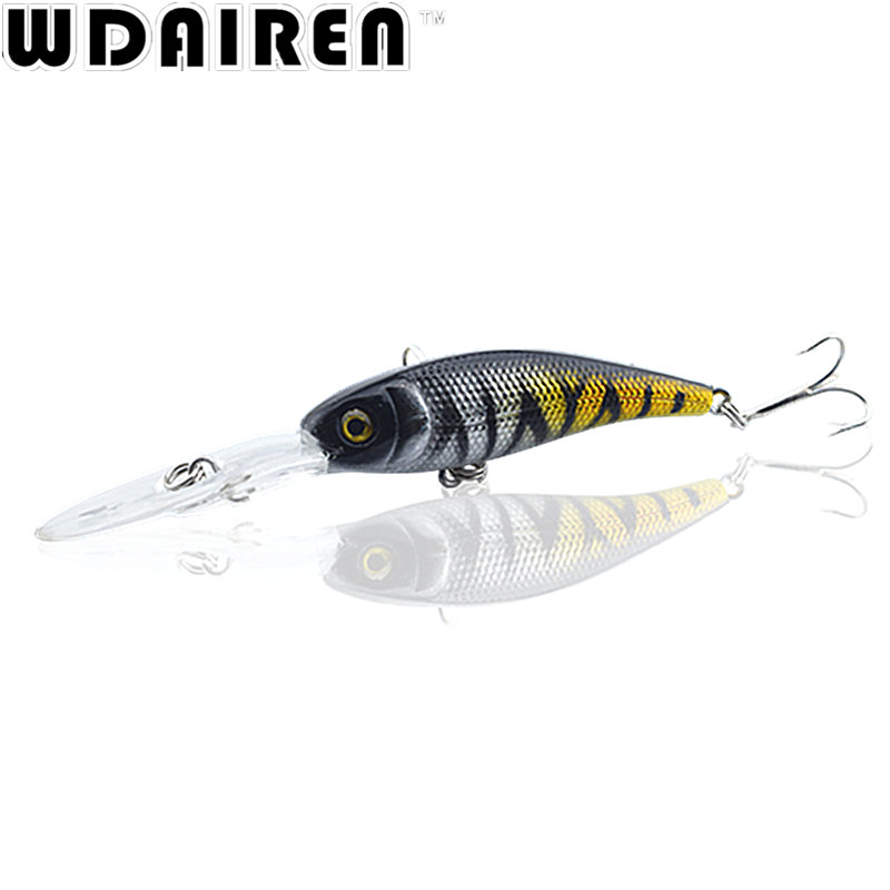 1pcs 9.1cm 7.2g Floating Wobbler Laser Minnow Fishing Lure Artificial Plastic Hard Bait Carp Crankbait 15 Colors Pesca Tackle 5pcs hard plastic fishing lure wobbler minnow squid tentacle diving trolling bait 14cm 40g hook size 1 0 free shipping