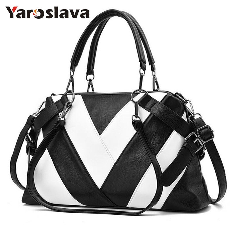 2018 Women Luxury Leather Bags Top-Handle Handbags Shoulder Bags Sac femme Women Tote Bag Designer Ladies Handbag   LL407 fashion luxury handbags women leather composite bags designer crossbody bags ladies tote ba women shoulder bag sac a maing for