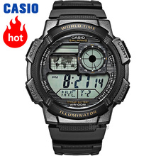 Casio watch Men's multi-functional fashion waterproof watch AE-1000W-1A casio ae 1000w 4a casio