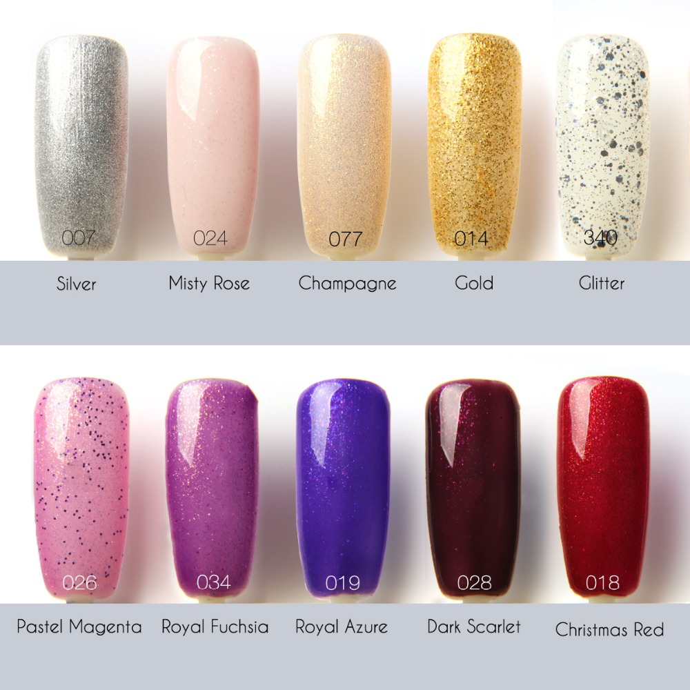 Focallure Nail UV Gel Nail Polish New style 12ML 90 Colors Gel ...