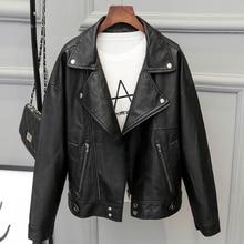 Hot Fashion 2017 Women Motorcycle Leather Jackets and Coats Short Casual Women PU Jackets Biker Leather