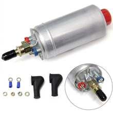300lph bomba de combustível externo alta pressão elétrica bomba de injeção combustível com acessórios instalação para 0580 254 044