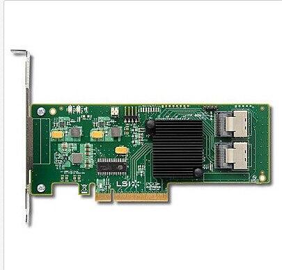 Internal SATA/SAS 9211-8i LSI00194 8port 6Gb/s PCI-Express 2.0 RAID Controller Card, , Single, 1 year warranty
