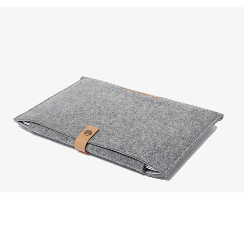 11,6 13,3 15,4 tum ullfilt bärbar bärbar datorväska väska till - Laptop-tillbehör - Foto 6