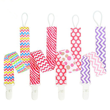 Baby Pacifier Clip Chain Ribbon Dummy Holder Chupetas Soother Clips Leash Strap Nipple For Infant Feeding