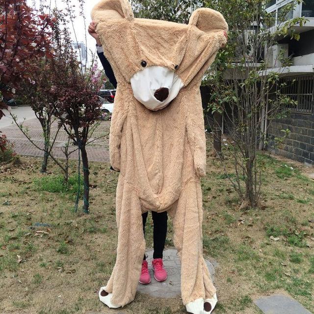 American Giant Bear Plush, Good Quality Factory Price Girls Soft Toys