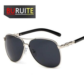 BURUITE-gafas de sol polarizadas clásicas para hombre y mujer, lentes de visión nocturna para Conductor, para conducir 1