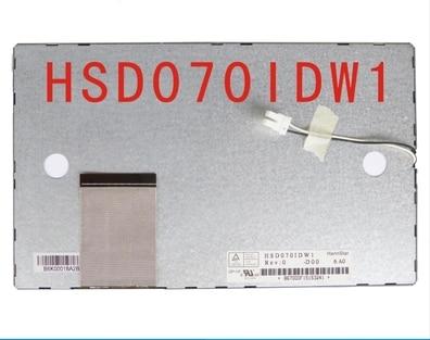 HSD070IDW1 D00 / E11  7 inch LCD display screen free shipping