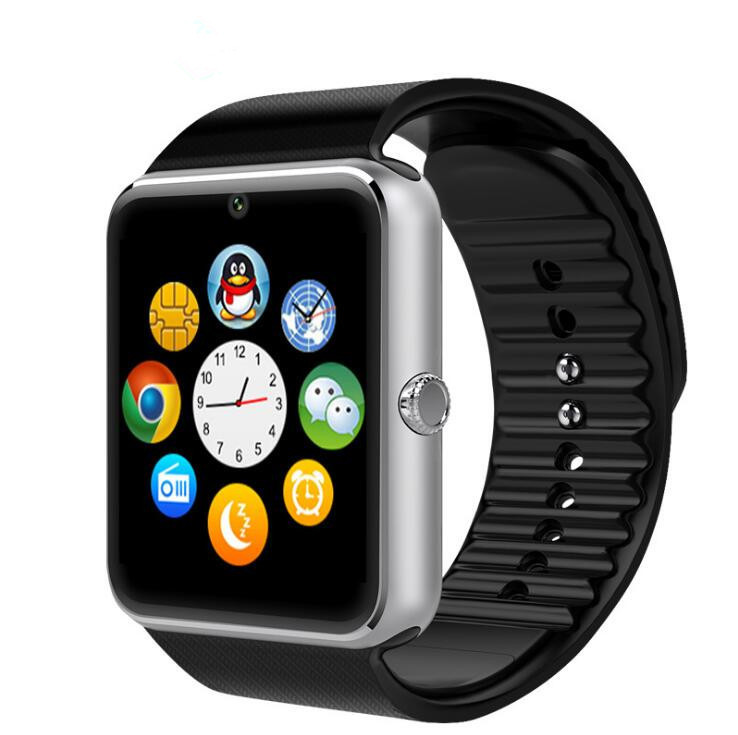 Relojes smart watch Bluetooth GT08 SmartWatch Phone for IOS Android IPhone Smartphone Sport Wear Clock Sim Wearable Devices mymei 2016 gt08 bluetooth smart watch sim wrist wear sim card for android ios phones