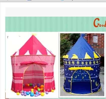 Gematigd 105x135 Cm Ultralarge Kinderen Strand, Baby Speelgoed Play Game House, Kids Prinses Castle Indoor Outdoor Toys In Veel Stijlen