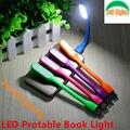 Frete grátis 100% Original USB Flexível do DIODO EMISSOR de Luz Do Livro USB lâmpada para Notebook Laptop Tablet PC USB Power Novel Leitura iluminação