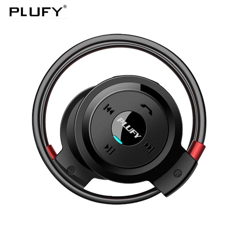 PLUFY Bluetooth Casque Sans Fil Sport Courir Casque Sweatproof Auriculares Inalambrico Ecouteur Bluetooth Écouteur