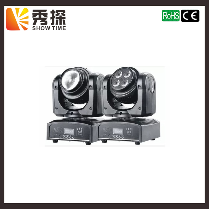 New Arrival Double sides Mini LED beam&wash moving head 1pcs*20W RGBW Beam&4pcs*10W RGBW 4 IN1 wash good effect for Club Bar factory price 4pcs led moving head zoom wash light 36x10w rgbw 4 in1 stage night club disco bar uplighting fast