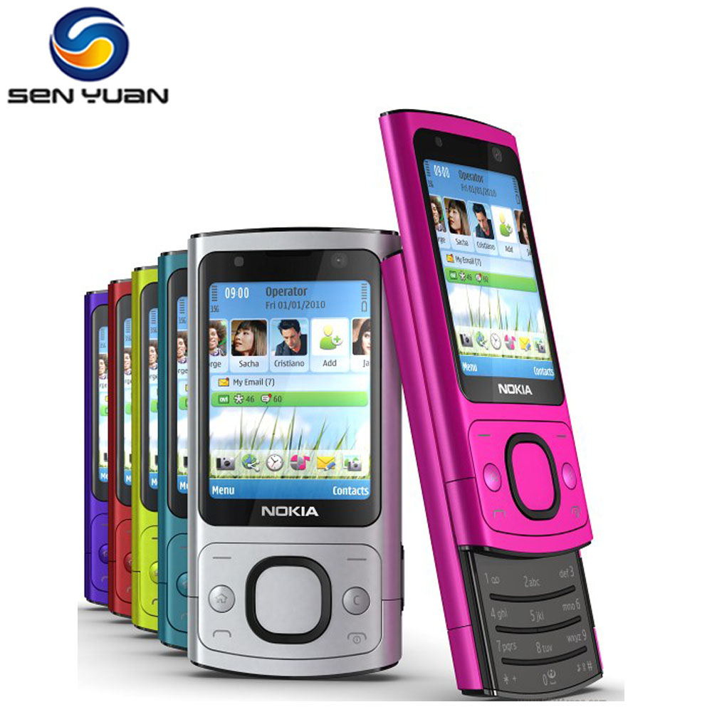 6700S Original Unlocked Nokia 6700S Mobile Phone Bluetooth FM JAVA 5MP 3G 6700 Slide Phone