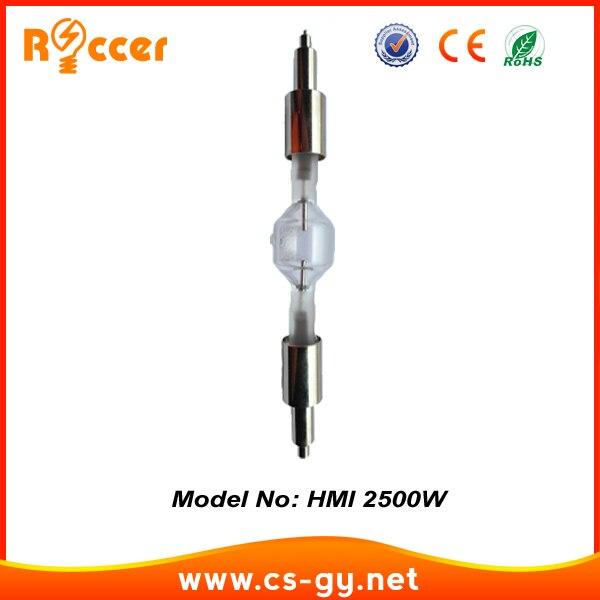 Сценическая лампа ROCCER HMI2500w/s, HMI 2500 S, Короткие металлогалогенные лампы hti2500w, диспрозиевые лампы hmi2500 RSI2500W