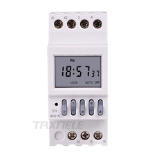 Din Rail Timer Switch School Bell Controller Digital Weekly Programmable Electro