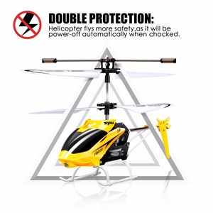 Image 5 - SYMA W25 RC Helicopter Aircraft 2CH Shatterproof Remote Control Copter Helicopter Built Gyro Radio Mini Drones Indoor Kid Funny
