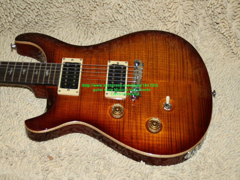 Left Handed Guitar Honey maple top Electric Guitar Wholesale Guitars Top Musical instruments instruments of desire – the electric guitar