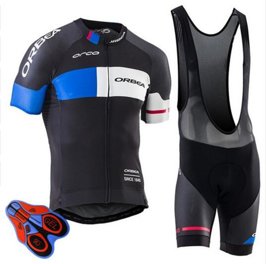 ORBEA Brand 2018 New Summer Cycling Jersey Set Maillot Ropa Ciclismo Bicycle Clothing MTB Bike Uniform Cycling Bib Shorts Suit стоимость