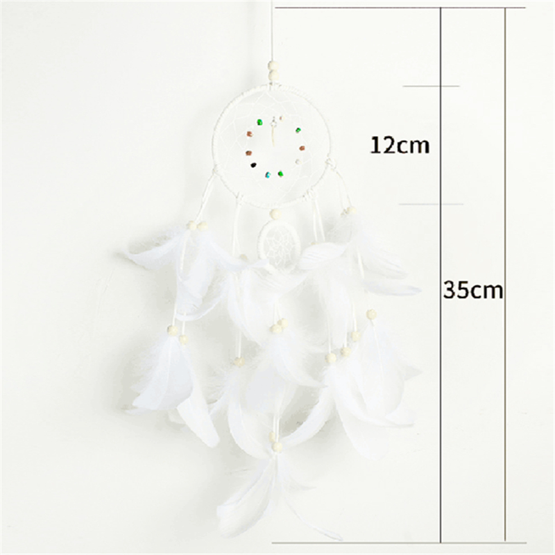 Baby Shower Girl Creative 2M 20pcs LEDs Stars String Lights Dream Catcher Weeding Christmas Navidad Home Ornaments Wind Chimes,5