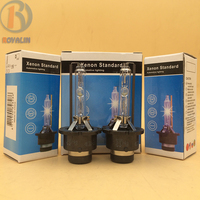 2pcs AC Single HID Lamps 12V35W D2S D2R Xenon Bulb With Metal Hold Best Quality 3000K