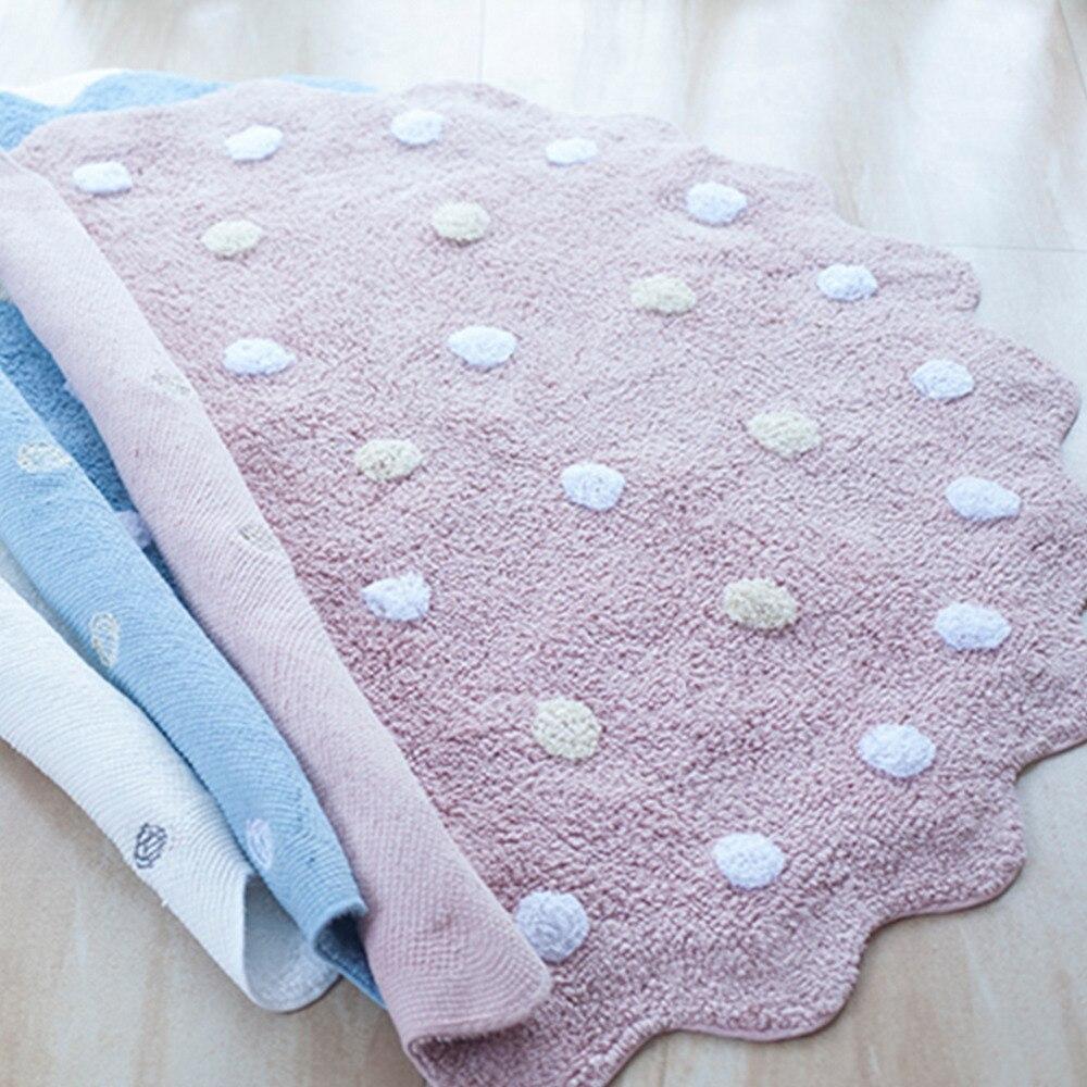Enfants jouer jeu tapis tapis rond tapis coton animaux jouer tapis nouveau-né infantile ramper couverture tapis de sol bébé chambre décor