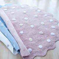Kids Play Game Mats Round Carpet Rugs Cotton Animals Play Mat Newborn Infant Crawling Blanket Floor Carpet Baby Room Decor