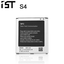 100% IST Original Mobile Phone Battery For Samsung Galaxy S4 I9500 I9502 I9505 I9508 IV NFC Built-in AAA Replacement Battery