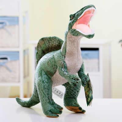 Cerca de 30 cm Jurassic Spinosaurus Dinossauro verde de pelúcia boneca de brinquedo macio brinquedo do miúdo presente de Natal s2543